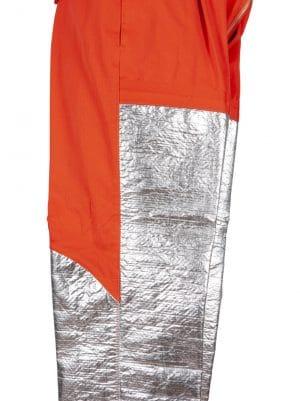 detalle pantalón ignífugo aluminizado