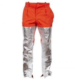 pantalón ignífugo aluminizado